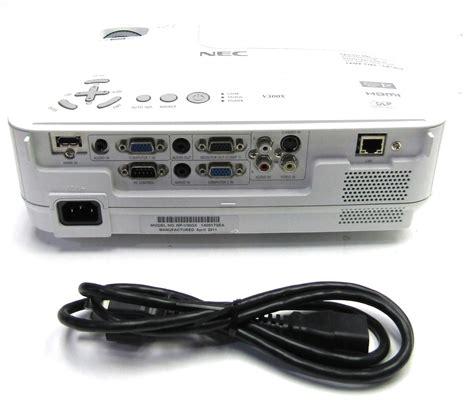Projector Nec V300x nec v300x hdmi dlp projector 1024x768 resolution 4 3 xga aspect ratio ebay