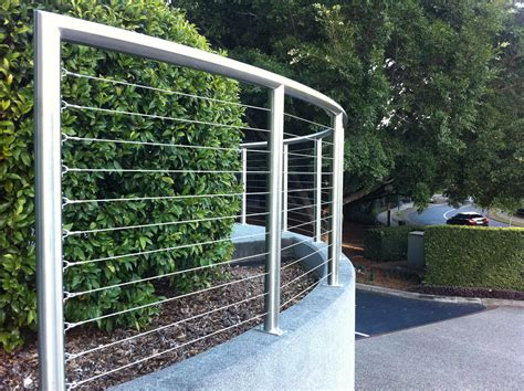 steel wire fence wire and stainless steel aaromat fencing balustrade