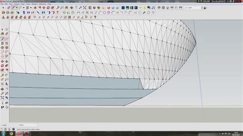 how to draw a boat hull in sketchup modeling a boat hull in sketchup youtube