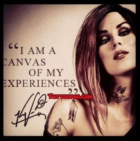 tattoo quotes kat von d 15 best images about celebrity tattoos on pinterest adam