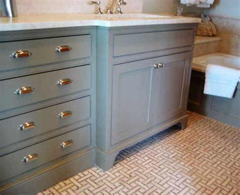 gray bathroom vanity cottage bathroom grace interiors