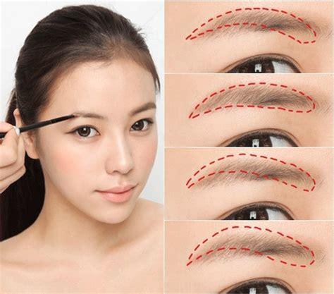 cara membuat alis palsu tips cara membuat alis mata ala korea yang paling mudah