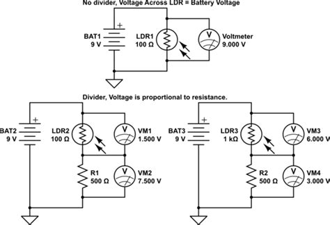 why resistor is used in circuits why do i to use an additional resistor with a photoresistor electrical engineering stack