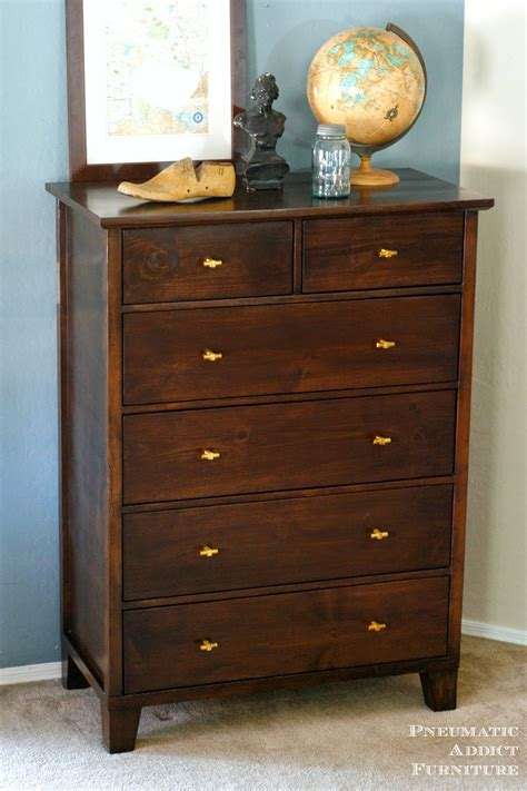 build your own dresser pneumatic addict tall tapered leg dresser