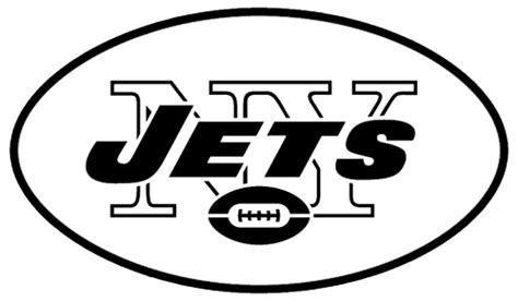 free coloring pages of jets logo