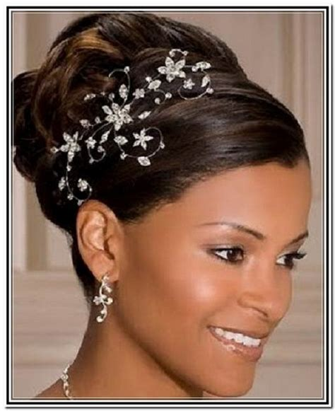 Black Wedding Hairstyles For Brides by Bridal Hairstyles Black Brides