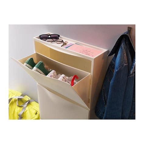 ikea plastic shoe storage trones shoe cabinet storage white 51x39 cm ikea