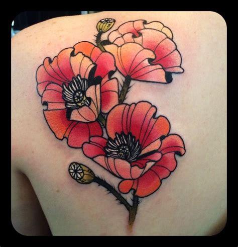 bali tattoo poppies 2 poppies tattoo by kari grat tattoos and art by kari grat