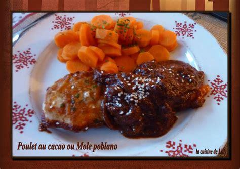 qu est ce que la cuisine mol馗ulaire poulet au cacao la cuisine de lilly