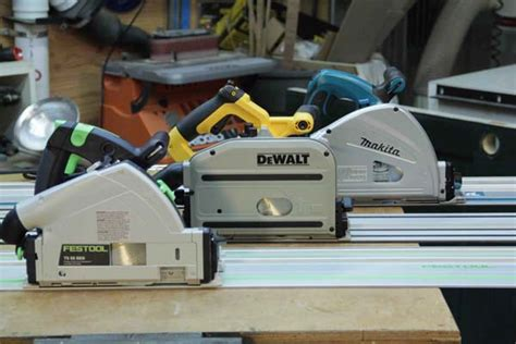 track saw vs table saw track saw comparison dewalt festool makita tool box buzz