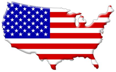 Us State Flag Outlines by Amerika 2012 Worldexplorer