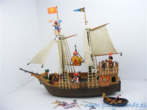barco pirata playmobil playmobil 3550 barco pirata 1978 1991 piratas en 2018