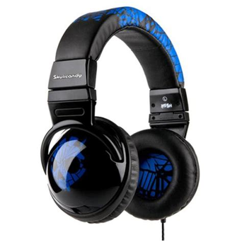 Arts And Crafts Style Home by Skullcandy 2010 Hesh Headphones Shattered Blue