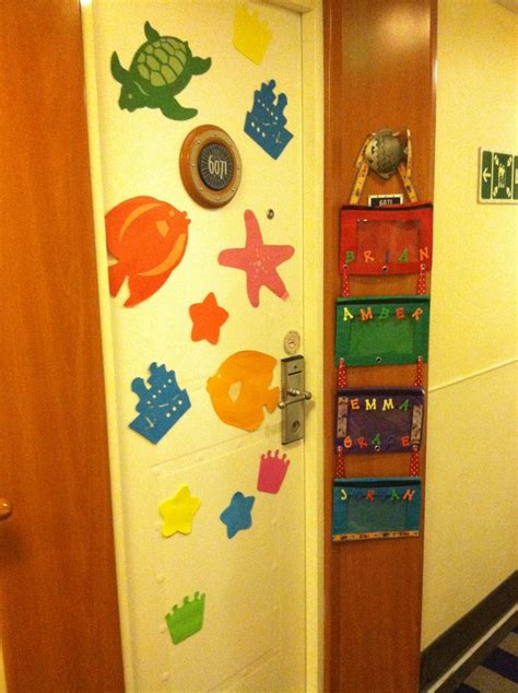 disney cruise fish extender idea door decorations magnets disney cruise