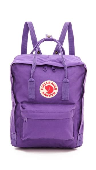 Fjallraven Kanken Mini Purple Violet 100 Original Backpack fashion list 41 must purple dresses tops handbags and accessories for summer and