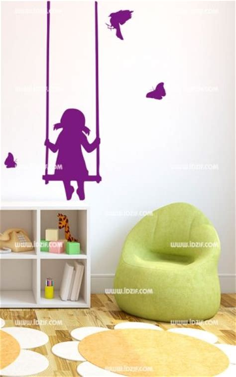 Stickers Balancoire by Stickers Enfant Balan 231 Oire