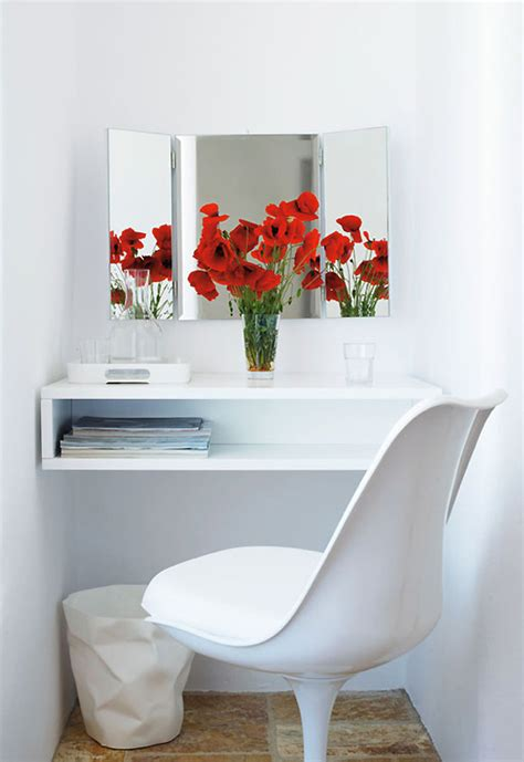 this small space vanity or desk for the home