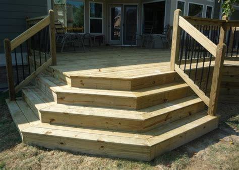 wrap around deck steps ideas pictures remodel and decor decks by design picture portfolio