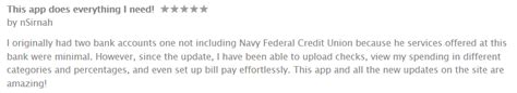 Navy Federal Credit Union Go - 12 of the best mobile banking apps of 2014 gobankingrates