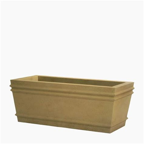 Rectangular Planter by Bordeaux Cast Rectangular Planters