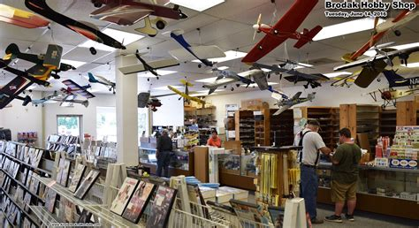 brodak s hobby shop carmichaels pennsylvania airplanes