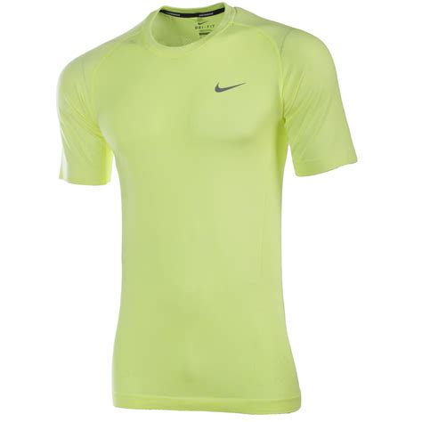 nike s dri fit knit sleeve running t shirt