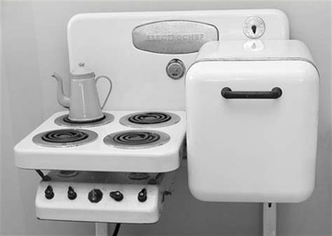all in one kitchen appliance electrochef an all in one vintage kitchen appliance set