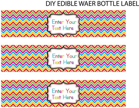 free water bottle label template word best photos of water bottle label template word