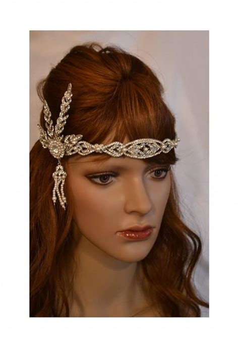 pictures great gatsby styles headpiece for women long great gatsby headpiece long hairstyles
