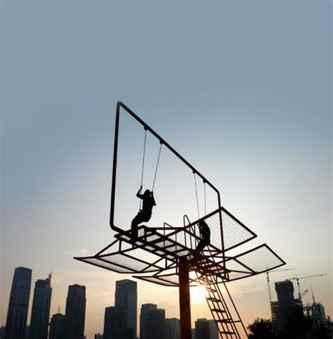 The Swings Of Things 15 Daring Swing Set Designs Urbanist