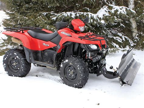 Suzuki King Snow Plow 2013 American Manufacture S Generation Ii Eagle Plow Atv
