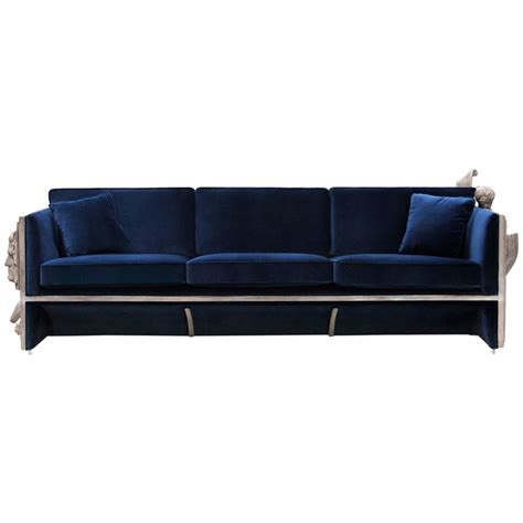 castle sofa french castle sofa wooden structure and sculpted panels