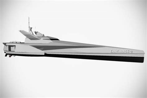 earthrace 2 boat earthrace s new conservation vessel is part frigate part