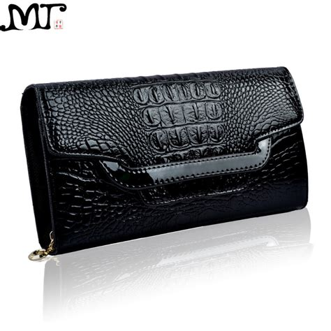 Clutch Cnk Evening Clutch fashion patent leather crocodile clutch purse high end alligator evening bags and