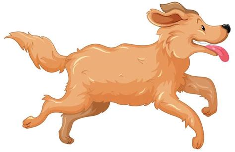 golden retriever clip golden retriever running clipart clipartxtras