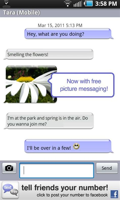 pinger for android textfree for android now with picture messaging pinger s