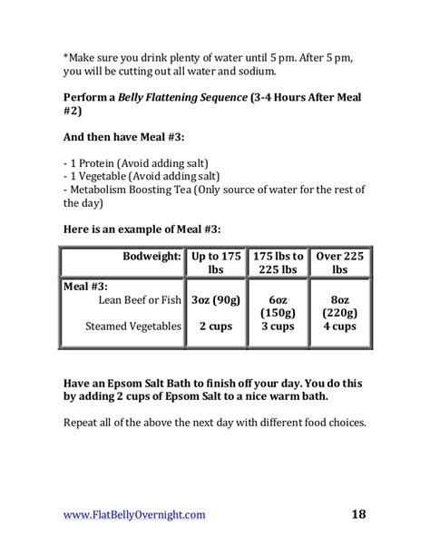 Flat Belly Overnight Detox Formula Pdf by Flat Belly Overnight Pdf Ebook By Andrew Raposo Cpt