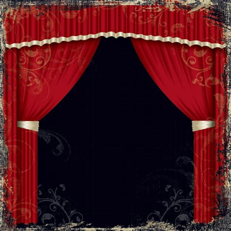 curtain all creative imaginations theater scrapbooking
