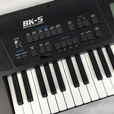 Keyboard Bk 5 Roland Bk 5 Backing Track Arranger Workstation Keyboard