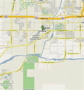 Goodyear Arizona Map by Arizona Golf Phoenix Golf Courses Scottsdale Golf