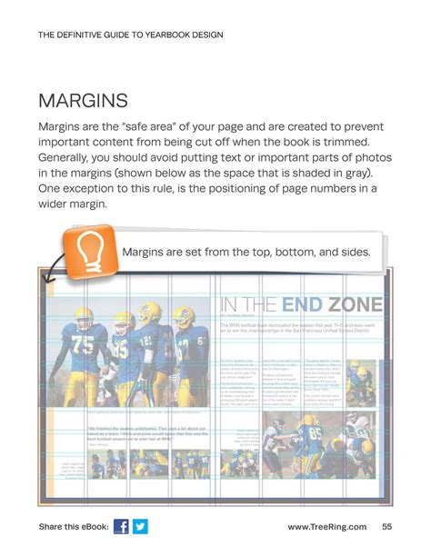 margins and gutter tips for creating a book on createspace yearbook design simplebooklet com