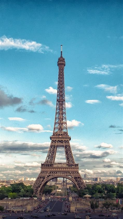 wallpaper for iphone 5 eiffel tower eiffel tower front view iphone wallpaper iphone wallpapers