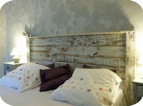 tete de lit planche t 234 te de lit en bois recycl 233 madame ki