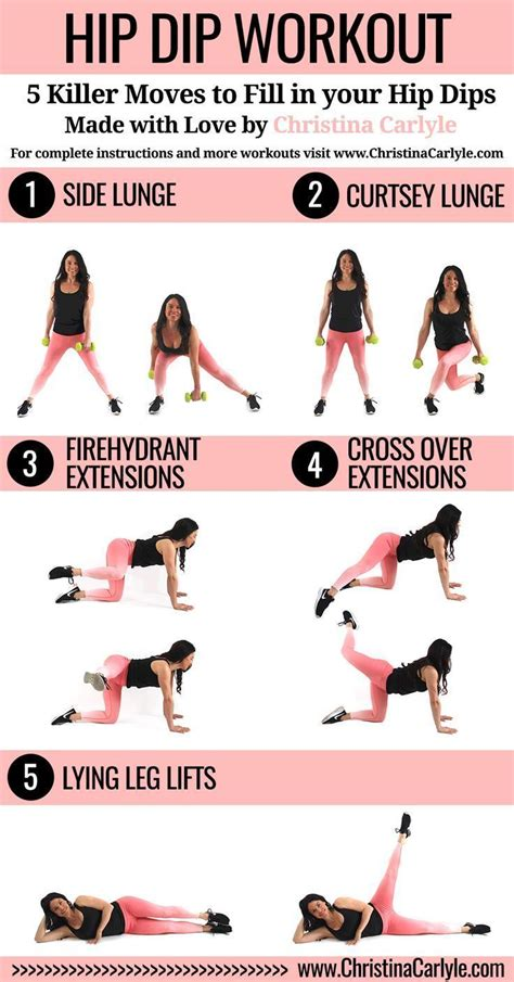 how to lose hip dips dips hip workout and thigh exercises