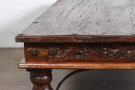 antique indian coffee table vintage anglo indian teak coffee table at 1stdibs