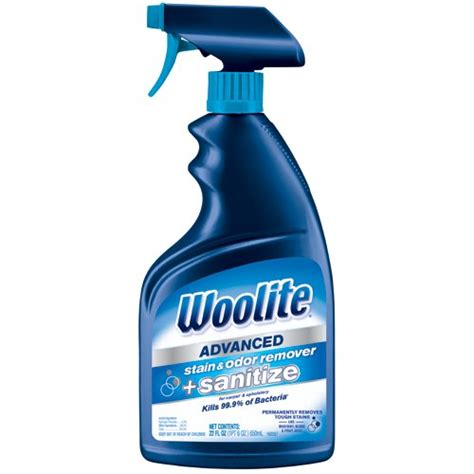 woolite upholstery cleaner woolite advanced stain odor remover sanitize 1282