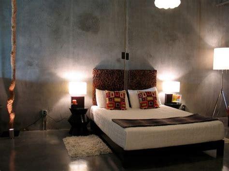 Concrete Bedroom Floor Ideas by 31 Creative Concrete Walls For Bedroom Ultimate Home Idea