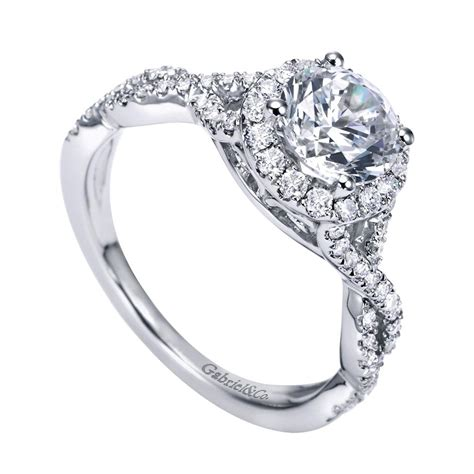 gabriel co engagement rings halo 42ctw setting