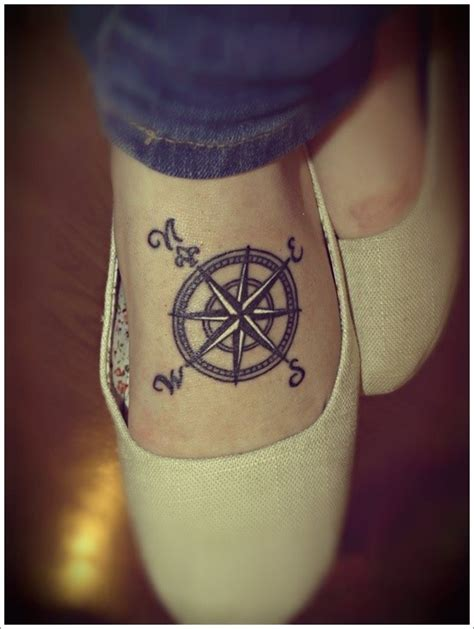 compass tattoo side 50 beautiful compass tattoo designs and meanings