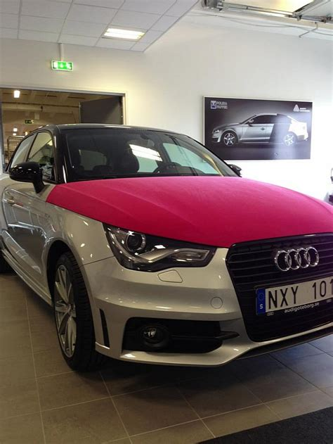 Audi A1 Pink by Audi A1 Wrapped In Pink Velvet Photo Gallery